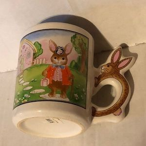 Other - Vintage Bunny Coffee Cup